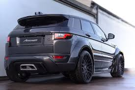 matte blue range rover hamann range rover evoque 5 door widebody