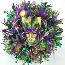 mardi gras wreaths deco mesh mardi gras wreath southern charm wreaths