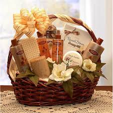 gift baskets for women the essence of lavender spa gift basket hayneedle