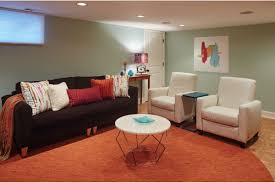 basement family room ash pierce design