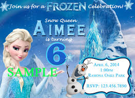 frozen birthday party invites u2013 gangcraft net