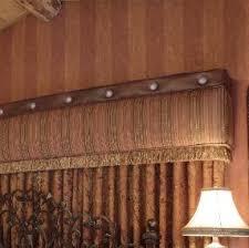 Faux Wood Cornice Valance Interiors Big Bear Lake Window Coverings Custom Top Treatments
