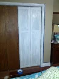 Updating Closet Doors Updating 1970 S Plain Closet Bi Fold Doors Interior Decorating