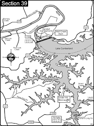 cumberland river map lake cumberland cumberland river map lake cumberland mappery