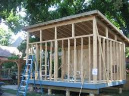 slant roof building a slanted shed roof pinteres