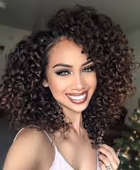 how to style meduim length african american hair human hair wigs medium length curly hairstyles for african