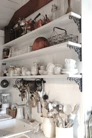 Kitchen Shelves Decorating Ideas by 207 Best Ideas For Displaying Dishes Images On Pinterest Kitchen