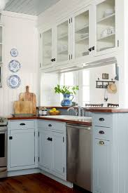 what color appliances with blue cabinets 31 kitchen color ideas best kitchen paint color schemes