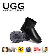 ugg womens water resistant free australian shepherd water resistant unisex mini nappa ugg