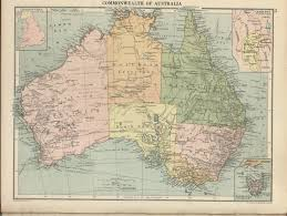 atlas map of australia sciences at the of alabama historical maps of australia