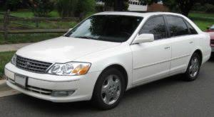 toyota avalon type check toyota avalon all models engine capacity