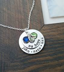 personalized jewelry for kids my boys necklace personalized necklace with kids
