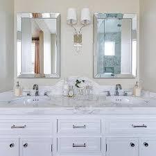 Marble Bathroom Vanity by Curved Marble Bathroom Vanity Backsplash Design Ideas