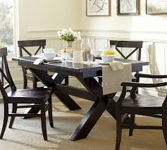 Dining Tables Pottery Barn Style Interesting Ideas Toscana Extending Dining Table Chic Idea Pottery