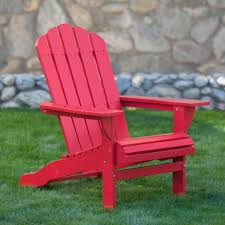 Adirondack Bench Belham Living Shoreline Adirondack Chair Red Hayneedle