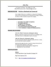 Scannable Resume Examples by Bricklayer Resume Occupational Examples Samples Free Edit With Word
