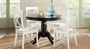 affordable black dining room sets rooms to go furniture