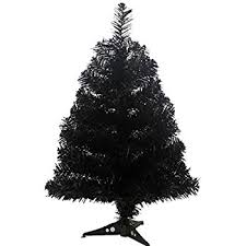 black christmas trees kurt adler 18 black mini christmas tree home kitchen