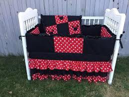 Minnie Crib Bedding Set Crib Bedding Set Moon And Tokida For