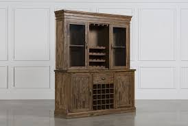 partridge wine cabinet w hutch living spaces