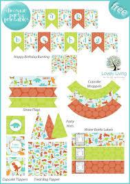 printable birthday decorations free 75 best free printable party decorations images on pinterest