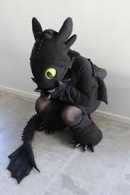 Toothless Costume A Simple Diy Toothless Costume From
