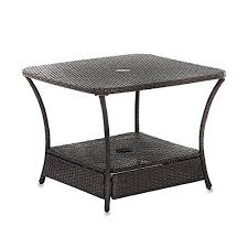 Patio Umbrella Stand Side Table Patio Umbrella Stand Side Table Outdoor Furniture Design And Ideas