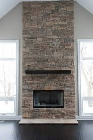 fireplace ideas with stone dry stacked stone fireplace design by dennis pinterest dry