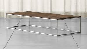 Coffee Table Frame Frame Large Coffee Table In Coffee Tables Reviews Crate And Barrel