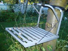 the cheap seat loggy bayou aluminum hang on tree stand