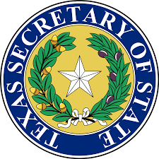 State Flag Of Texas File Seal Of Texas Secretary Of State Svg Wikimedia Commons