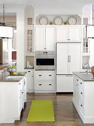 decorating ideas for kitchens with white cabinets kitchen kitchen cabinets top decorating ideas space between