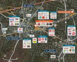 Washington Traffic Map by Kamp Washington Fairfax Va 22030 U2013 Retail Space Regency Centers