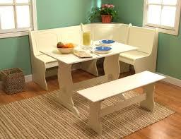 corner kitchen table with storage bench round metal industrial bar