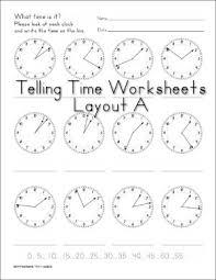 best 25 clock worksheets ideas on pinterest teaching clock