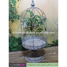 country style metal lanterns candel holder for home lighting