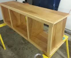how to build a simple diy tv stand using wood removeandreplace com