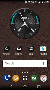analog clock widgets for android vertu constellation review the billionaire s phone android central