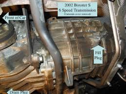 porsche boxster transmission problems porsche boxster differential manual transmission fluid change