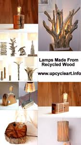 Recycled Wood by Lamps Made From Recycled Wood Upcycle Art