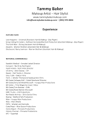 Salon Resume Examples by Resume Template 781 Free Samples Examples Format Download Artist