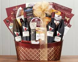 wine and country baskets talaria vineyards sonoma quartet gift basket at wine country gift