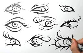 tribal eye tattoo design sketches by jsharts on deviantart