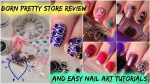 born pretty store review and easy nail art tutorials part 2