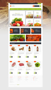 supermarket template magento theme 51119