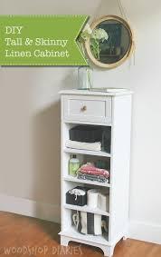 Skinny Storage Drawers How To Build A Tall U0026 Skinny Storage Cabinet Pretty Handy