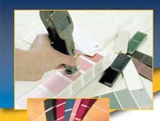instant color matching for paint dealer shops chromatic notes