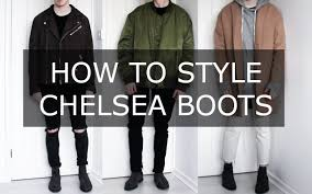 mens biker style boots how to style chelsea boots mens fashion advice gallucks youtube
