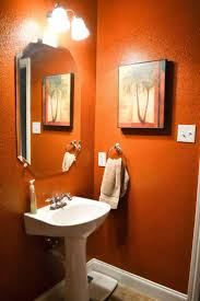 Bathroom Paint Ideas For Small Bathrooms 31 Best Orange Bathroom Images On Pinterest Bathroom Ideas