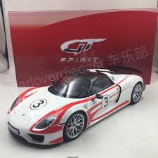Porsche 918 Red - gt spirit porsche 918 spyder weissach package resin scale 1 12